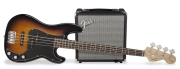FENDER SQUIER PJ BASS PACK BROWN SUNBURST Гитарный набор