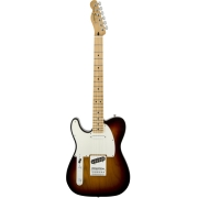 FENDER STANDARD TELECASTER LEFT-HANDED MAPLE FINGERBOARD BROWN SUNBURST Электрогитара